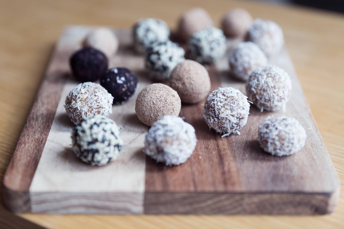 Bliss Balls, 4 façons / Bliss Balls, 4 ways